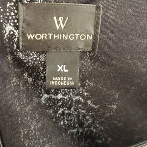 Worthington Dresses - Worthington XL black sequin dress